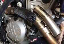 CIARLO COVER PROTEZIONE PARACALORE SCARICO AKRAPOVIC KTM EXC F 250-350 2017