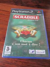 SCRABBLE           -----   pour PS2  / NEUF - NEW