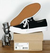 d8eeea5334 Huf Worldwide Footwear Skate Schuhe Shoes Brad Cromer Black White Canvas  13 47