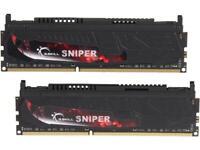 G.SKILL Sniper Series 16GB (2 x 8GB) 240-Pin DDR3 SDRAM DDR3 2133 (PC3 17000) De