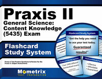 Praxis II General Science: Content Knowledge (5435) Exam Flashcards