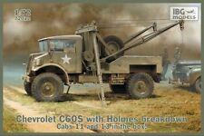 Chevrolet C60S dépanneuse lourde avec holmes ventilation (canadian & polish army MKGS) 1/72 ibg