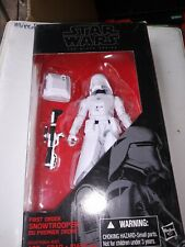 """Star Wars The Black Series First Order Snow Trooper  6"""" Action Figure #12"""