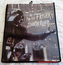 STAR WARS SHOPPING TOTE BAG - DARTH VADER I'M YOUR FATHER - NEW LIMITED EDITION