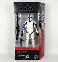 Clone Trooper Lieutenant Star Wars Black Series Action Figure 6-inch Walgreens