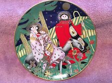 Franklin Mint Plate Journey of the Holy Family House of Faberge Signed Marsten