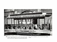 North Chicago St Louis Citizens Railway Traction Grip Cable Street car print