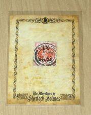 2014 Cult-Stuff Adventures Sherlock Holmes postage artifact stamp postmark b