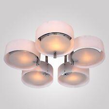 Modern 5-Light Chandelier Ceiling Lamp Pendant Light Fixture Flush Mount Decor