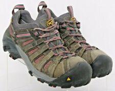Keen Flint Steel Toe Gray EH Lace-Up Bump Toe Work Sneakers Women's US 7.5M