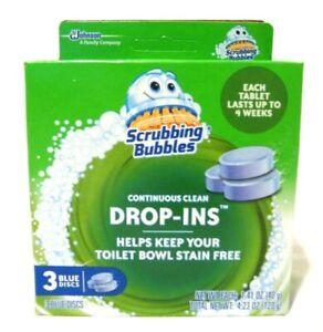 Scrubbing Bubbles Continuous Clean Drop Ins 1 pkg 3 blue discs