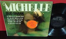 BUD SHANK Michelle 1966 PACIFIC JAZZ Mono CHET BAKER In SHRINK LP WP-1840