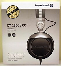 NEW Beyerdynamic DT 1350 Headphones Limited Edition GOLD Closed 80Ohm 100%SELLER