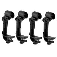4pcs Anti shake Microphone Drum Clip Drum Mount Microphone Mic Clamps Holder