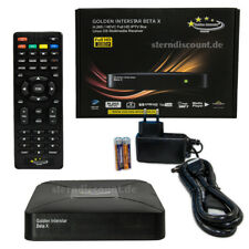 Golden Interstar BETA X IPTV BOX Stalker IP Receiver HD Linux OS 2GB RAM - HDTV