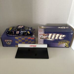 Rusty Wallace Adventures 50th Anniversary Action 1:24 Diecast With Stand