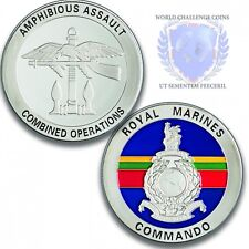 Royal Marines Combined Operations Silver Challenge Coin