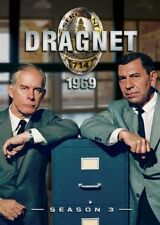 DRAGNET 1969 SEASON 3 New Sealed 4 DVD Set Jack Webb