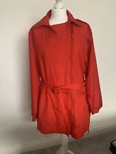 LA REDOUTE TRENCH JACKET COAT RED SIZE 18 - 20