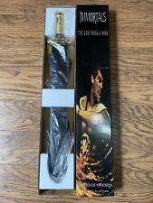 "Movie IMMORTALS 2011 Greek Warrior THESEUS BATTLE SWORD 24-1/2"" New Box W/Poster"