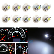 10Pcs White B8.4D 5050 SMD For BMW Dodge Benz Dashboard Gauge Cluster LED Light