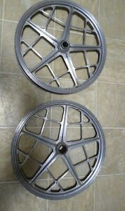 Motomag II Mongoose Oldschool Redline Vintage Bmx Mag Wheels