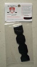 NEW TWO Blade Armor Hockey Stick Blade Tapes (Blade Tip) - Black - 2 Pack