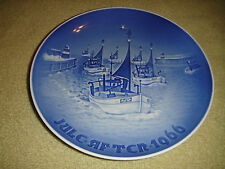 Vintage B & G July 1966 Plate-Jule After-Nautical Ship Plate-Denmark-Grondahl