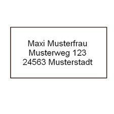 520 Etiketten mit individuellen Druck Adresse Heft Buch Schule Aufkleber  #852