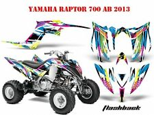 AMR RACING DEKOR GRAPHIC KIT ATV YAMAHA RAPTOR 125/250/350/660/700 FLASHBACK B