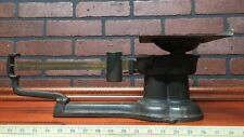 1932 Antique Howe United States Postal Scale Iron And Brass Nice Stock 146