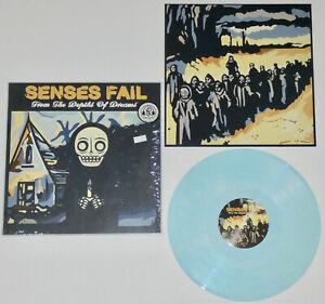 SENSES FAIL From The Depths Of Dreams (SEALED) BLUE VINYL LP /500 bayside thrice