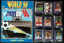 World Cup France 98 DIAMOND - Very RARE Empty album + stickers set