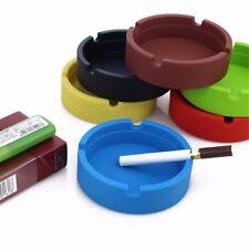 Silicone Lightweight Round Ashtray Eco-Friendly Colorfull Premium Heat Resistant