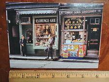 New 1967 59 Mott Street Chinatown Mow Shen New York City Modern Nyc Post Card