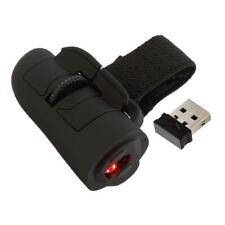 Mini 2.4G Wireless USB Finger Mouse Optical Handheld Ring Mice for Laptop PC