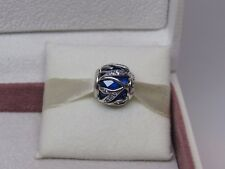 New w/ Box Pandora Royal Blue Nature's Radiance Charm 791969NCB