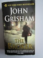 THE BROKER by John Grisham (2005, A Dell Book. Paperback  FIRST