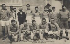 FOOTBALL JUEGOS OLIMPICOS 1924  EQUIPE DE FRANCE N°100 REAL PHOTO