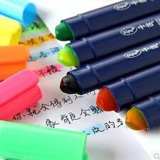 1X Gel Solid Highlighter Jet Stick Oval Type Maker Inkjet Safe Jelly Pen Pencils