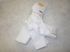 Gold Toe Women's Socks, Women's Bermuda Socks, Gold Toe 3524 3 Pair Pack. White