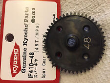 KYOSHO INFERNO MP9 TKI4 TKI3, CENTRE DIFF MAIN SPUR GEAR 48T, NIP STEEL IF410-48