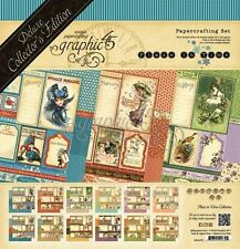 "GRAPHIC 45 ""PLACE IN TIME"" DELUXE COLLECTOR'S EDITION CALENDAR SCRAPJACK'S PLACE"