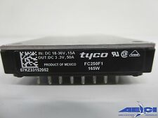 TYCO FC250F1 ISOLATED DC DC CONVERTER, IN:DC 18V-36V, OUT:DC 3.3V, 50A