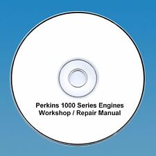 Perkins 1000 Series Taller Reparación Manual 4&6 Cylinde Motores CD Pdf