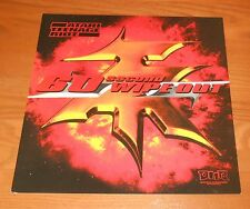Atari Teenage Riot 60 Second Wipeout Poster 2-Sided Flat 1999 Promo 12x12 Rare