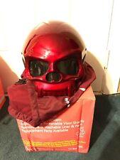 Masei 419 Red Skull Kawasaki Chopper Bike Harley Half Face Motorcycle HELMET