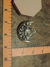 moon fairy goddess mould molds make pendant,brooch,polymer clay,pmc