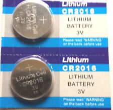 2pc Batteries CR 2016 DL2016 BR2016 Lithium fresh Battery 3V Button cell   (Y3)