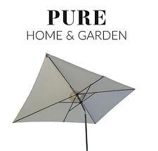 rechteckige sonnenschirme g nstig kaufen ebay. Black Bedroom Furniture Sets. Home Design Ideas